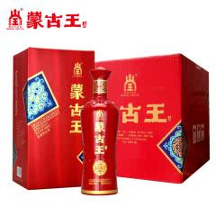 蒙古王42度喜宴白酒整箱500ML*6浓香型纯粮度数适中内蒙古特产