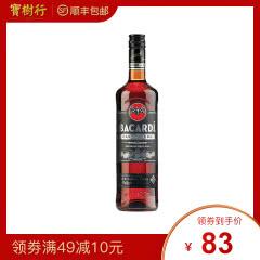 40°百加得黒朗姆酒750ml