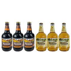 低度俄罗斯进口老米勒啤酒深啤精酿黑啤组合弥勒大风车啤酒  450ml*6