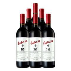 澳大利亚原瓶进口红酒 奔富星空389 西拉干红葡萄酒750ml*6瓶