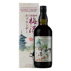 松井(Matsui Umeshu)梅酒 日本甜酒果酒梅子酒水果女士酒 松井白兰地梅酒