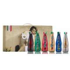 意大利原瓶进口BIKE鸡尾酒 苏打鸡尾酒水果酒果酒女生甜酒葡萄起泡酒250ml(6瓶礼盒)