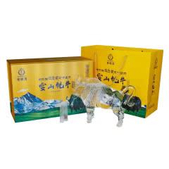 藏佳纯青稞酒 52度雪山牦牛酒 浓香型 750mL礼盒装