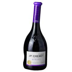 【买1送1】法国原瓶进口 香奈JP歪脖梅洛干红葡萄酒750ml