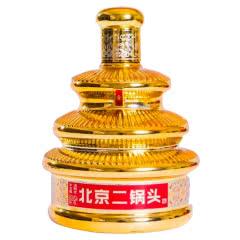 42°京都北京二锅头七彩天坛瓶金瓶 清香型白酒500ml(6瓶整箱装)
