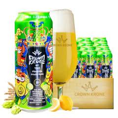 德国进口皇冠啤酒精酿柠檬啤酒500ML(24听装)