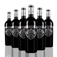 法国 皇室金爵干红葡萄酒750ml*6瓶珍珠银标 原瓶进口