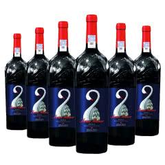 澳大利亚天鹅大师 西拉干红葡萄酒750ml*6瓶
