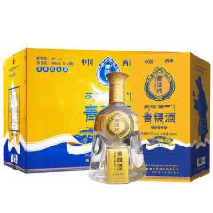 西藏青稞酒 藏佳纯圣露 浓香型白酒 42度500ml 6瓶整箱