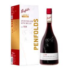 奔富特瓶Lot. 518加强型葡萄酒 澳洲原瓶进口红酒礼盒装750ml