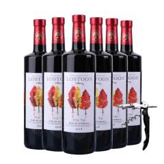 澳洲进口红酒利树西拉干红葡萄酒整箱750ml(6瓶装)