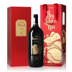 【澳大利亚驻华使馆指定用酒品牌】天鹅庄14度澳洲红酒美乐干红葡萄酒1500mL 大金鼠
