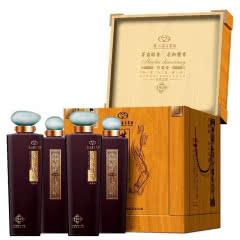 53度酱香型白酒 茅台醇香 茅台醇香木盒珍藏级500ml*4瓶