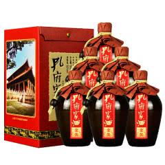 52°孔府家酒 金装 坛装高度白酒 500ml*6瓶 整箱礼盒装