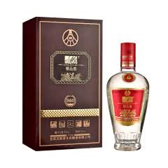 52°宜宾五粮液集团 精品酒H60 礼品酒 高度白酒礼盒装酒水500mL单瓶装