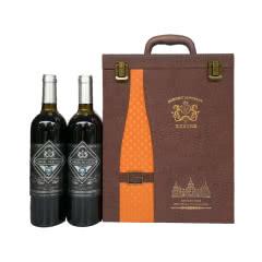 艾伯如木桐堡蓝钻干红葡萄酒750ml×6瓶皮箱装