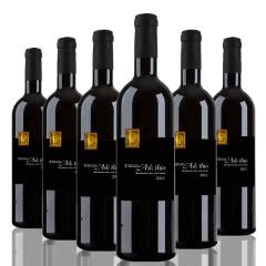 法国原瓶进口红城菲图波尔多干红葡萄酒750ml*6瓶