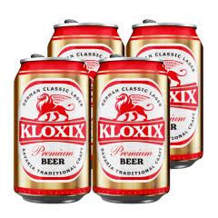 科罗斯德式经典拉格啤酒330ml(金罐)*4