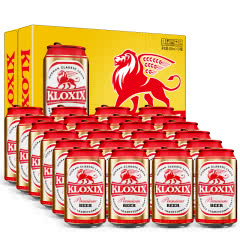 科罗斯德式经典拉格啤酒330ml(金罐)*24(整箱装)