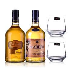 法圣古堡公爵金朗姆+威士忌+酒杯*2