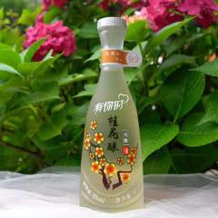8°贵州黄氏花果酒女士低度酒桂花酿 青梅 桃花酿 玫瑰 百香果纯酿多种口味380ml单瓶装