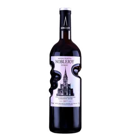 法国进口红酒14度手握瓶古堡珍藏干红葡萄酒750ml