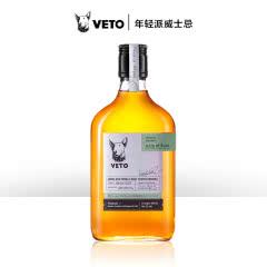 牛头梗 VETO 波本桶/雪莉桶双桶单一麦芽威士忌350ml 限量版洋酒