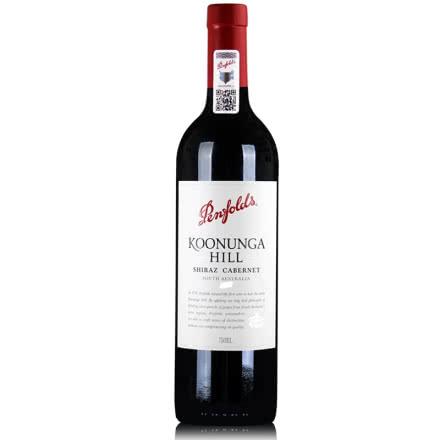 奔富 寇兰山设拉子赤霞珠红葡萄酒 澳洲原瓶进口红酒 750ml