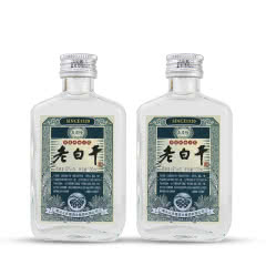 42°衡水衡记 义庆隆老白干酒小酒版100ml*2瓶 品鉴试饮装