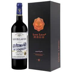 法国红酒路易拉菲传誉微醺半干红葡萄酒750ml单支礼盒装(1瓶装)