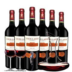 路易拉菲Louis Lafon原酒进口2009干红葡萄酒12° 整箱醒酒器装750ml*6