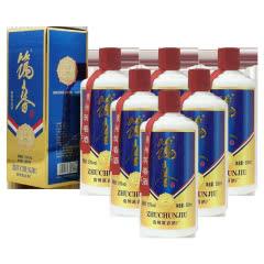 53度筑春酒酱香型白酒500ml*6瓶整箱装
