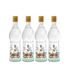 42°宫门口古法二锅头优级酒水浓香型 500ml(4瓶)