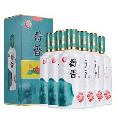 53°贵州伴月荷香酒(15)酱香型白酒荷花酒送礼收藏粮食酒商务宴请500ml*6