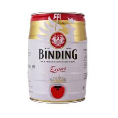德国进口 冰顶出口装啤酒5L