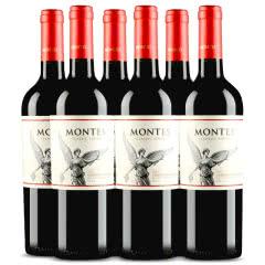 智利原瓶进口红酒 蒙特斯经典系列赤霞珠干红葡萄酒 750ml*6 整箱