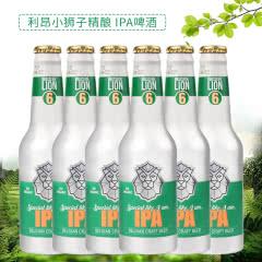 比利时原瓶进口 LION利昂小狮子IPA(6号)精酿啤酒 铝罐装 330ml*6瓶