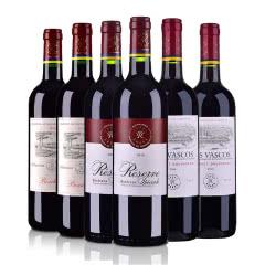 拉菲罗斯柴尔德家族系列(珍藏+尚品+巴斯克)干红葡萄酒750ml(6瓶装)