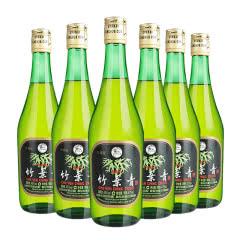 45度山西杏花村汾酒 竹叶青酒玻璃瓶475mL*6瓶装露酒