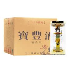 河南白酒 宝丰酒 宝丰(三十陈酿)酒清香型白酒54度500ml6瓶整箱
