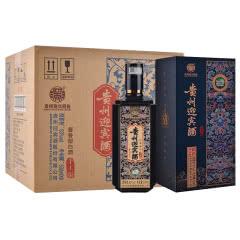 贵州迎宾酒(手工版)53度 大曲酱香型白酒500ml*6