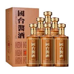 53°贵州国台酒业公司 国台酱酒 酱香型白酒整箱装500ml*6瓶