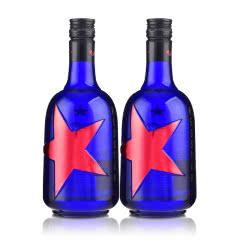 43°红星蓝界500ml(双瓶装)