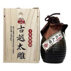 14°古越龙山 古越太雕十年陈酿 绍兴黄酒500ml