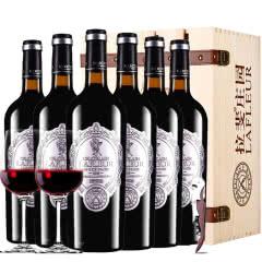 法国进口红酒拉斐天使酒园干红葡萄酒红酒整箱 木箱装750ml*6