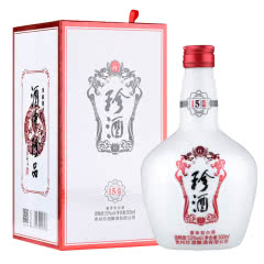 53°珍酒15·优选 酱香型500ml单瓶贵州珍酒纯粮食高度白酒坤沙酒易地茅台礼酒收藏酒