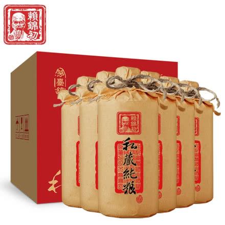53° 賴錦初私藏純糧 貴州茅臺鎮 醬香型白酒 高粱酒 固態純糧食 整箱500ml*6瓶