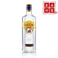 37.5°哥顿(Gordon's) 金酒 杜松子酒伦敦干味毡酒琴酒 洋酒 哥顿金700ml