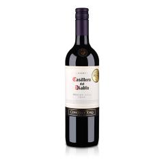 智利干露红魔鬼梅洛红葡萄酒750ml