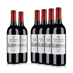 澳洲整箱红酒澳大利亚奔富洛神山庄设拉子红葡萄酒750ml(6瓶装)
